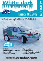 Plakát 3. White Dark RC Rally