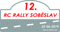 Logo 12. RC Rally Sobeslav