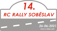 Logo 14. RC Rally Soběslav